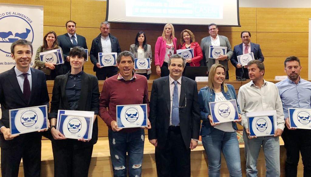 2018-04-25 reconocimiento Banco de Alimentos Madrid
