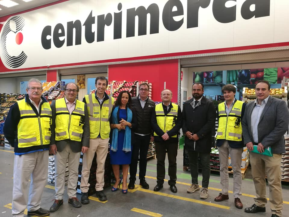 Visita presidente Mercamadrid oct. 2019