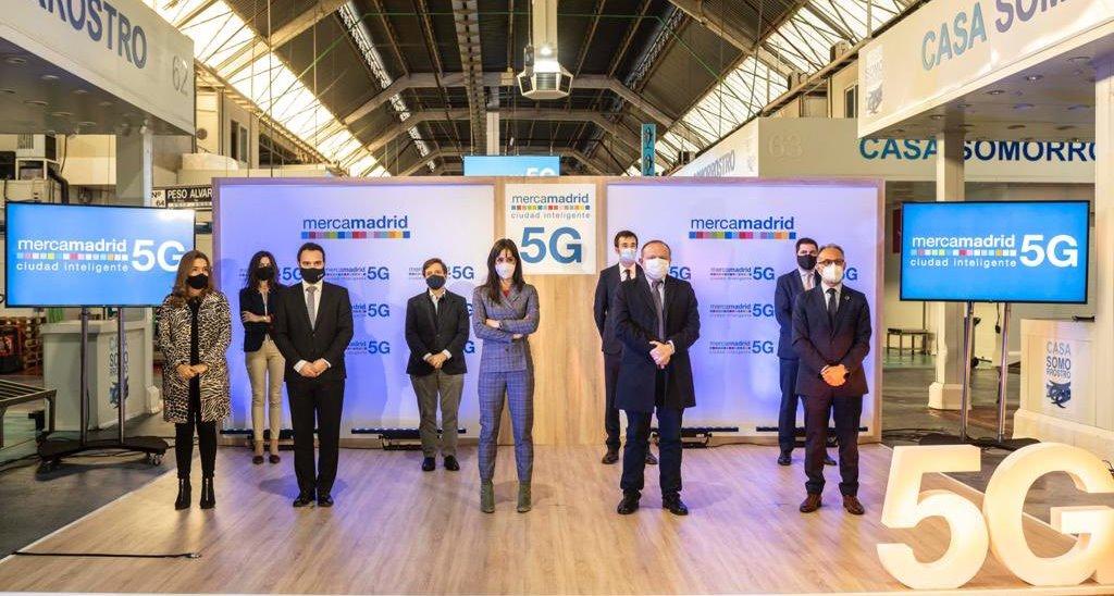 presentación 5G Mercamadrid 13-11-20