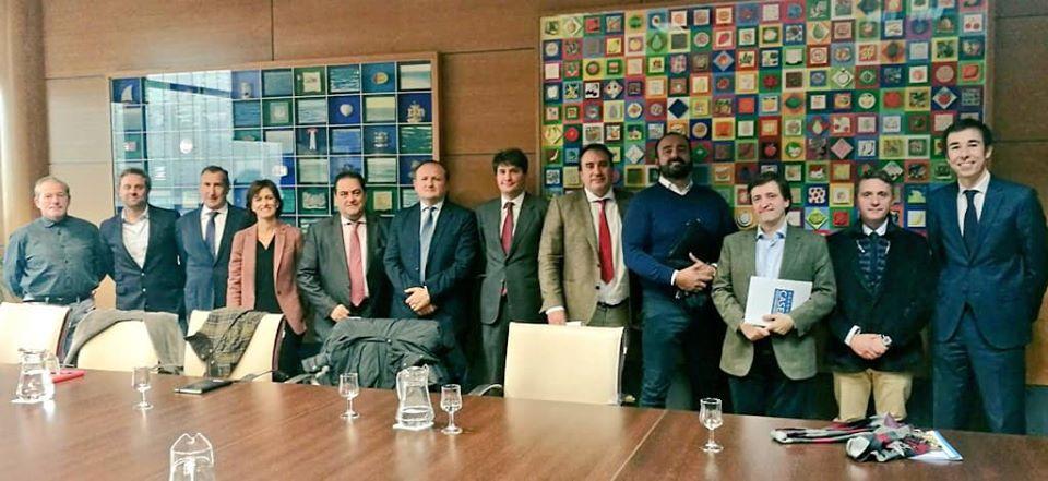 reunión con presidente de Mercamadrid 20-11-2019