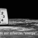 """ES EL TIEMPO DE UNIR ESFUERZOS:  """"SINERGIA"""""""